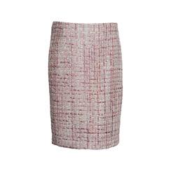 Maruschka de Margò Pink Deluxe Tweed Skirt | Pink