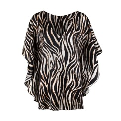 Demadly Kaftan | Zebra (please contact boutique to order)