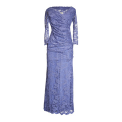 Olvis' Lace Gown | Hyacinth Purple