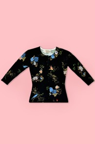 Wheels & Dollbaby Chinoiserie Cardigan - S