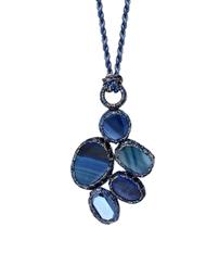 Boks & Baum Venise Necklace | Deep Blue