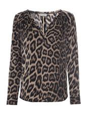 Dea Kudibal Irene Leopard Blouse | leo