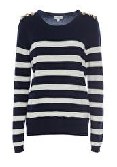 Dea Kudibal Salinas Sweater | Blue&Cream