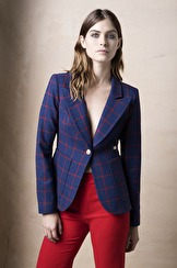 Smythe Les Vestes Patch Pocket Duchess Blazer