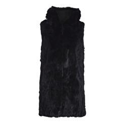 Tavus Milano Long Vest With Hood   black