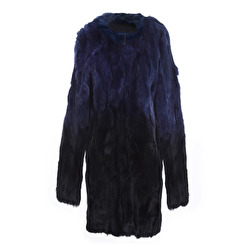 Tavus Milano Cappottino Jacket   degrade blue to black