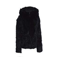 Tavus Milano Bomber Jacket With Hood   black