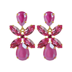 Caroline Svedbom Dione Drop Earrings | peony