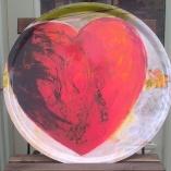 Bricka Rött hjärta