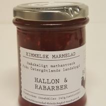Himmelsk Marmelad - Hallon & Rabarber