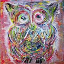 Confused Owl By Denmark - Gicleétryck