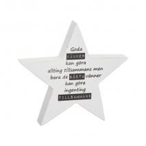 Stående stjärna, Goda vänner...