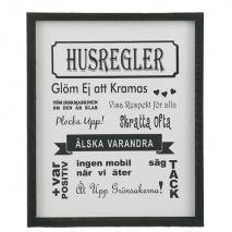 Tavla Husregler, liten