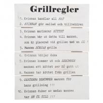 Tavla - Grillregler