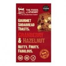 Hasselnötstoasts med tranbär - Glutenfria