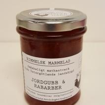 Himmelsk Marmelad - Jordgubb & Rabarber