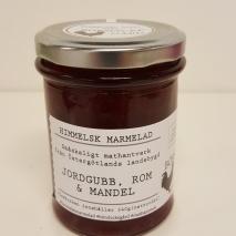 Himmelsk Marmelad - Jordgubb, Rom & Mandel