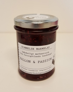 Himmelsk Marmelad - Hallon & Passion