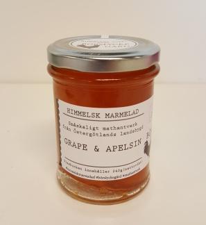 Himmelsk Marmelad - Grape & Apelsin