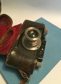 En Leica från 1934 - arv från Catherines far