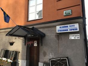 Allmänna flytt Stockholm Express