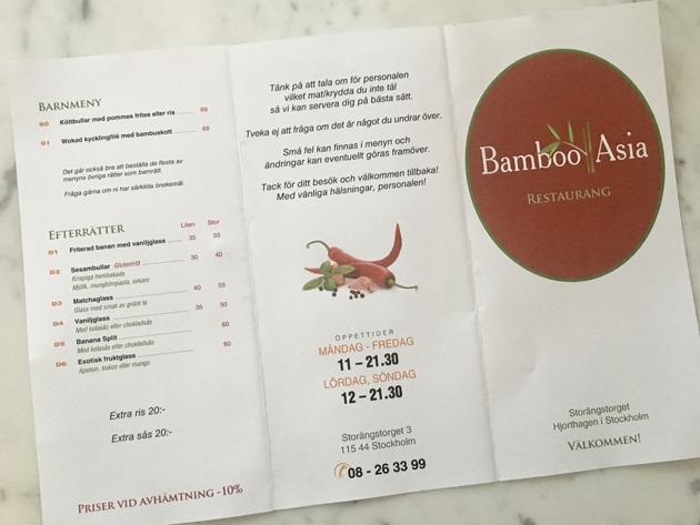 Bamboo Asia Norra Djurgårdsstaden