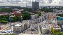 Norra Djurgårdsstaden 2012. Foto: Stefan Söderström. Klicka för större format
