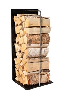 Vedstaplare Kromad stång 80cm - 400-81 Vedstaplare Kromad stång