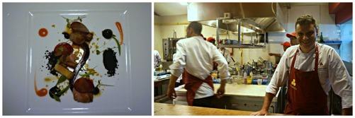 Ett besök i köket fick vi också :)