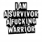 I am a survivor - Posterperfect