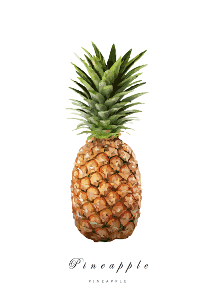 Pineapple - Posterperfect