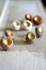 Örhängen RAW Gold Concrete