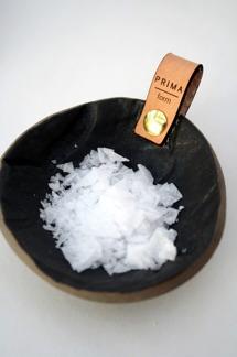 Salt & peppar matt black -