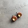 Örhängen RAW Gold Rust