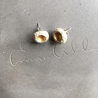 Örhängen RAW Gold White -