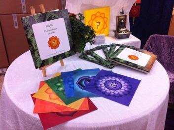 Meditationsskiva med bilder