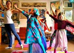 Dans och musik på förskolans schema