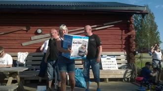 Pris för största fisken (Inger & Ogge)