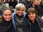 Sofie ÅströmOlinger, Maggan Osmund och jag var TRE LADDADE TANTER  :)