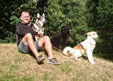 170804 Lars å hundarna