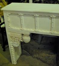 Indiskt sideboard med antika delar