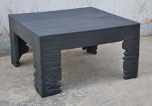 Soffbord matt svart