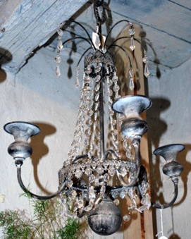 Ljuskrona för levande ljus