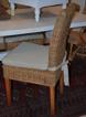 Rottingstol med dyna