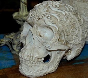 Dekorativ skalle