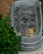 Fontän Buddha Relief