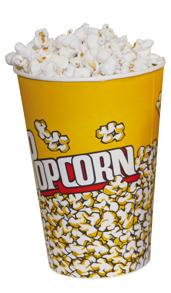 40005 Popcorns- bägare 1 liter -