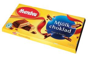 2812115  Marabou Mjölkchoklad 2kg -