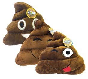 464060 Plush Poop Kudde -