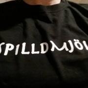T-shirt DAM #spilldmjolk